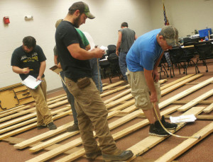 OSU South Centers recently offered a Lumber Grading workshop for those employed in timber and related industries. Photo Courtesy of News Watchman