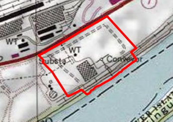 Ohio River Site topography map thumbnail