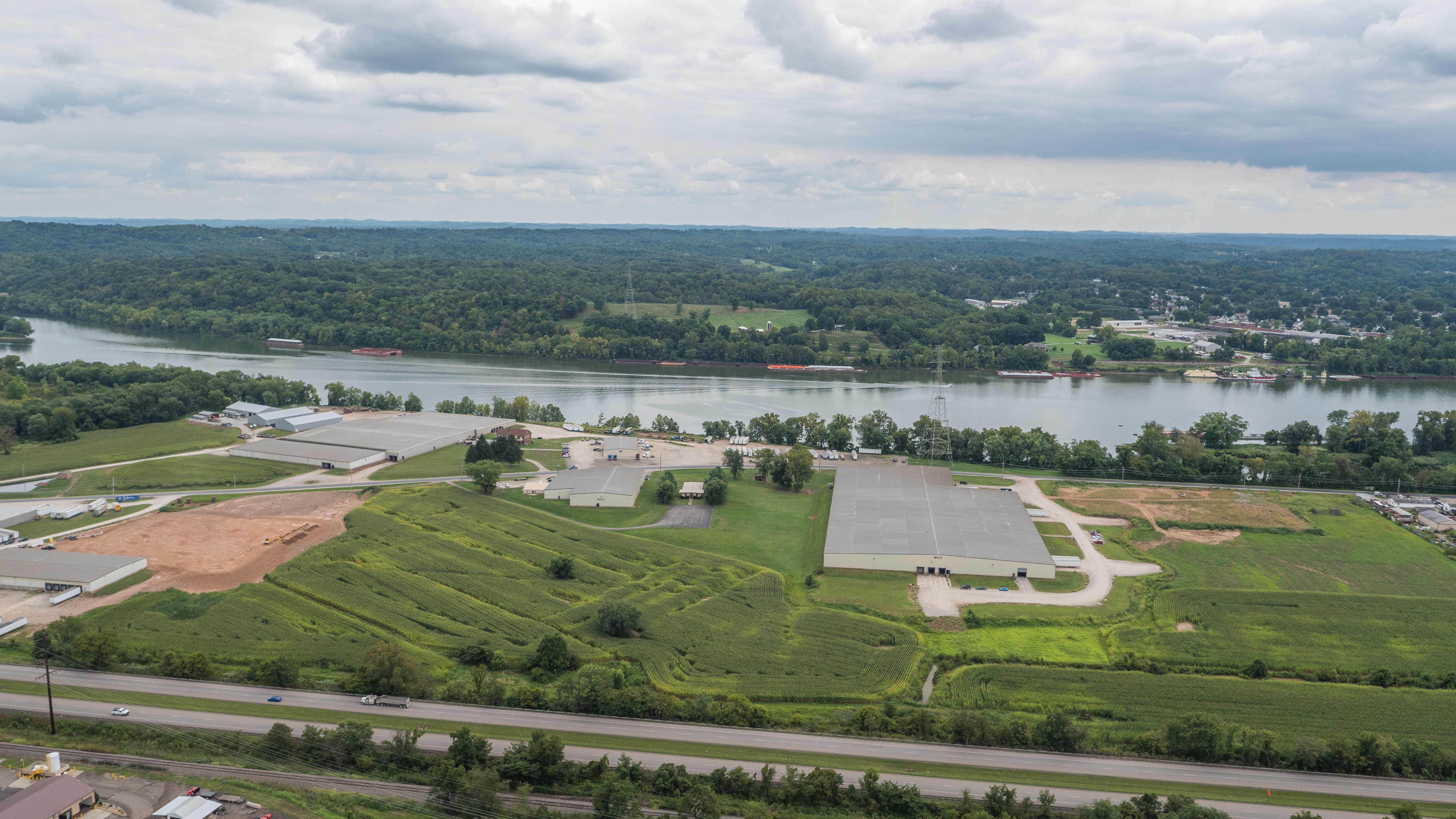 Aerial image of Wetz Warehouse Sites