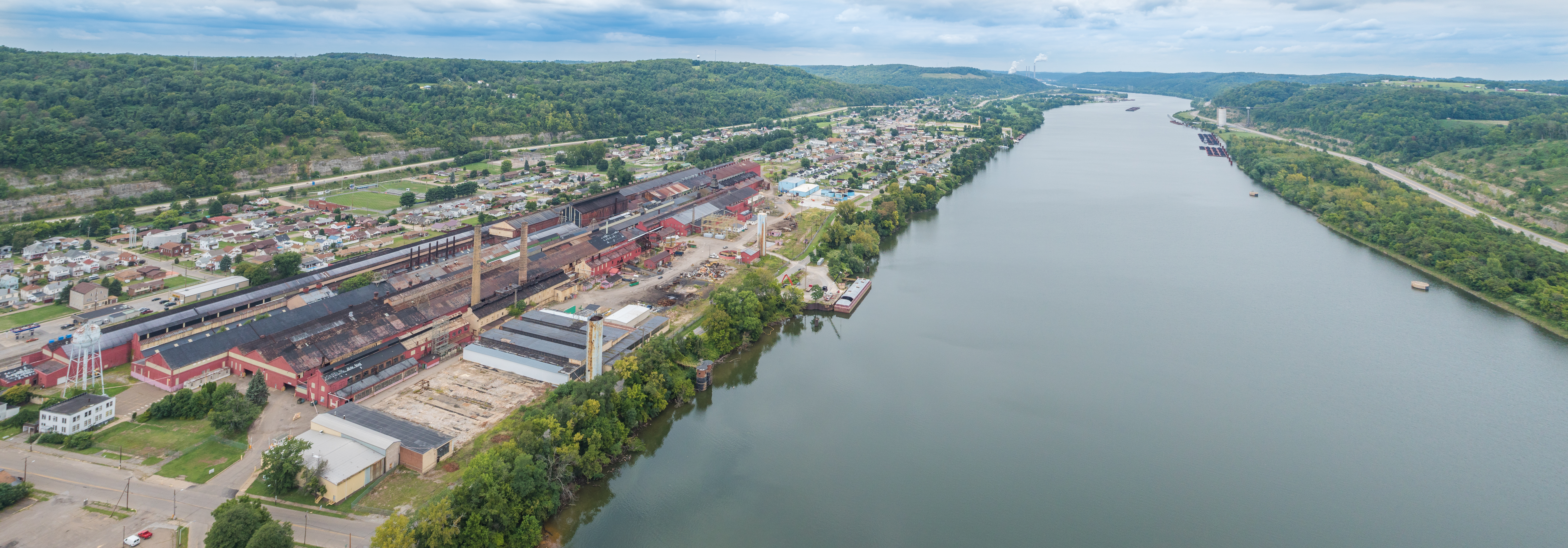 Aerial image of Yorkville Energy Services Terminal