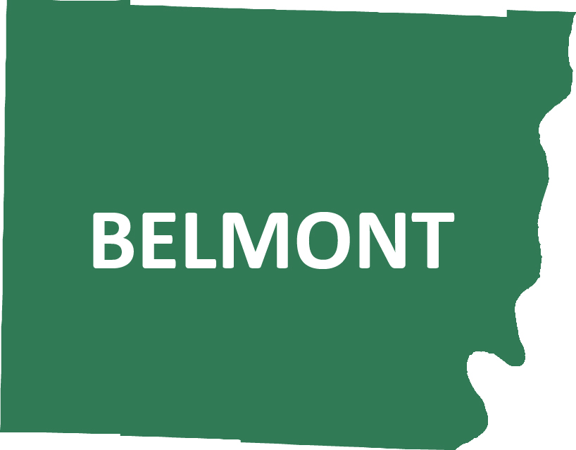 Outline image of Belmont County