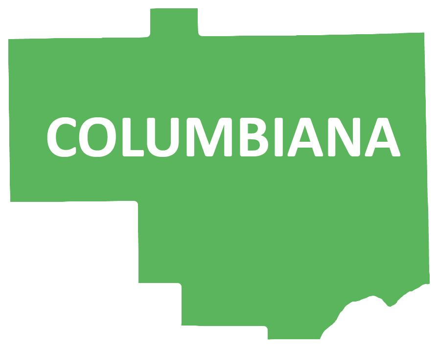 Outline image of Columbiana County