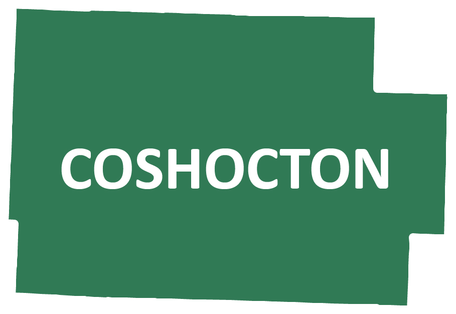 Outline image of Coshocton County
