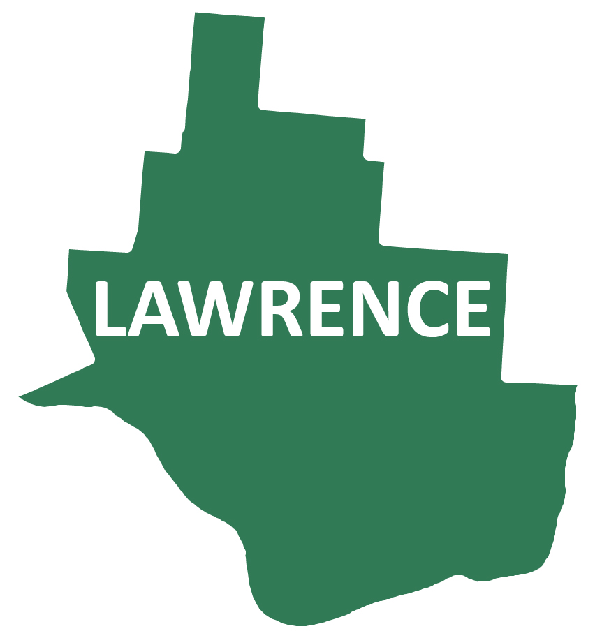 Outline image of Lawrence County