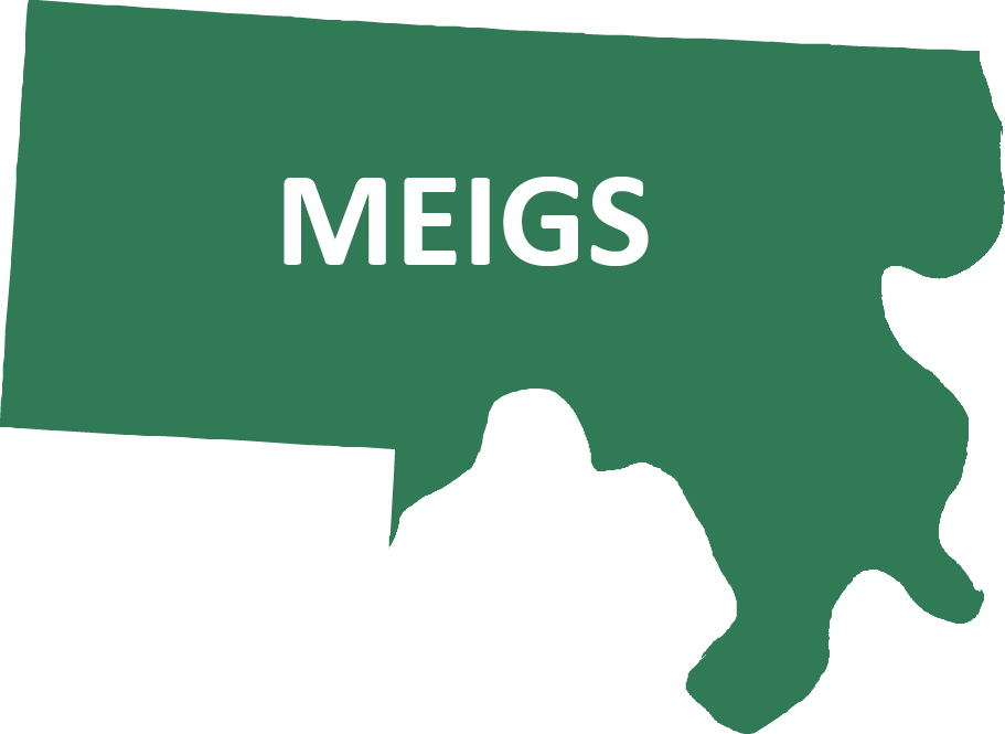 Outline image of Meigs County