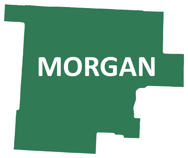 Outline image of Morgan County