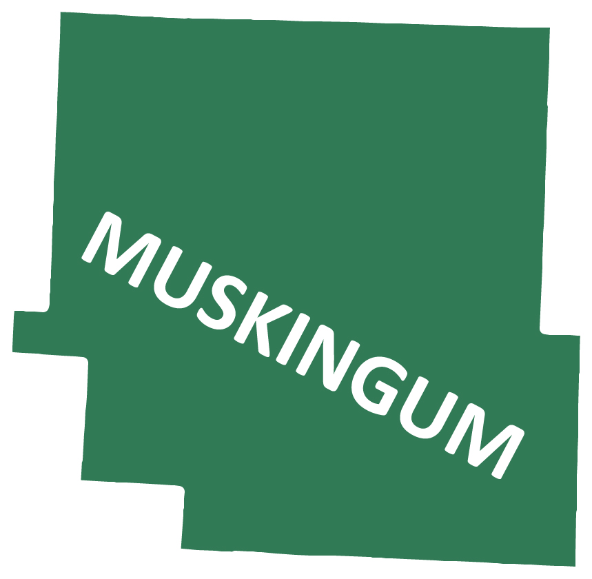 Outline image of Muskingum County