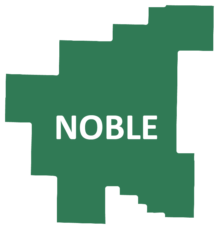 Outline image of Noble County