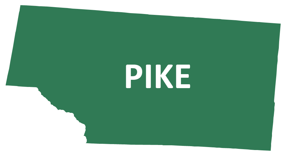 Outline image of Pike County