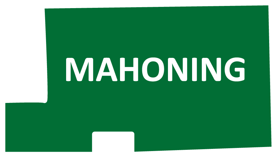Outline image of Mahoning County