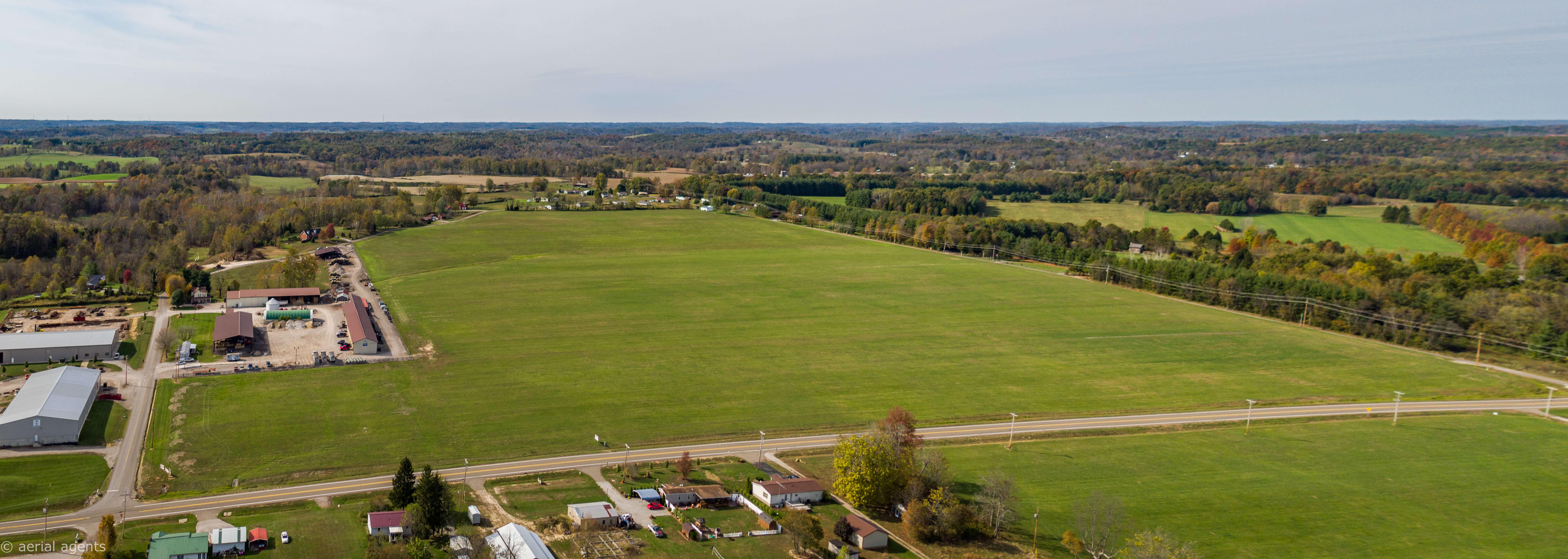 Aerial image of Dan Evans Industrial Park – Phase II