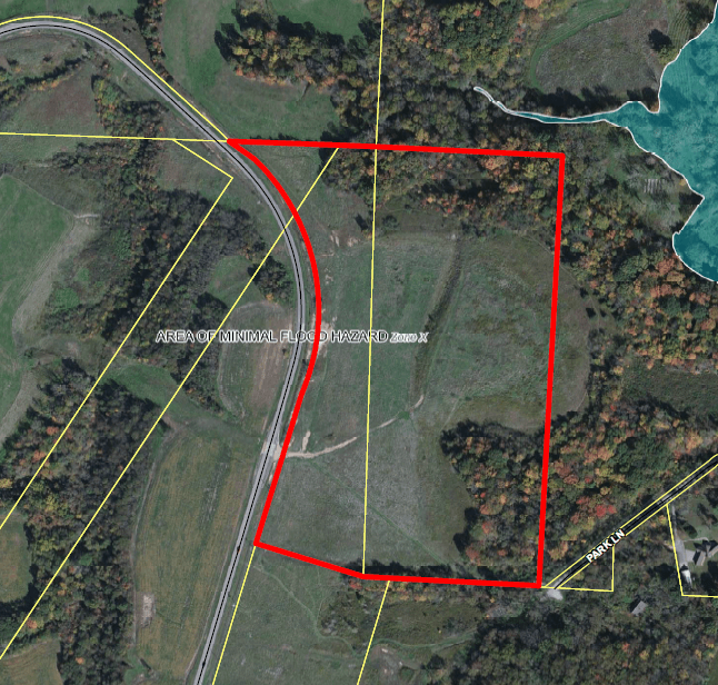 Ohio River Site floodplain map thumbnail