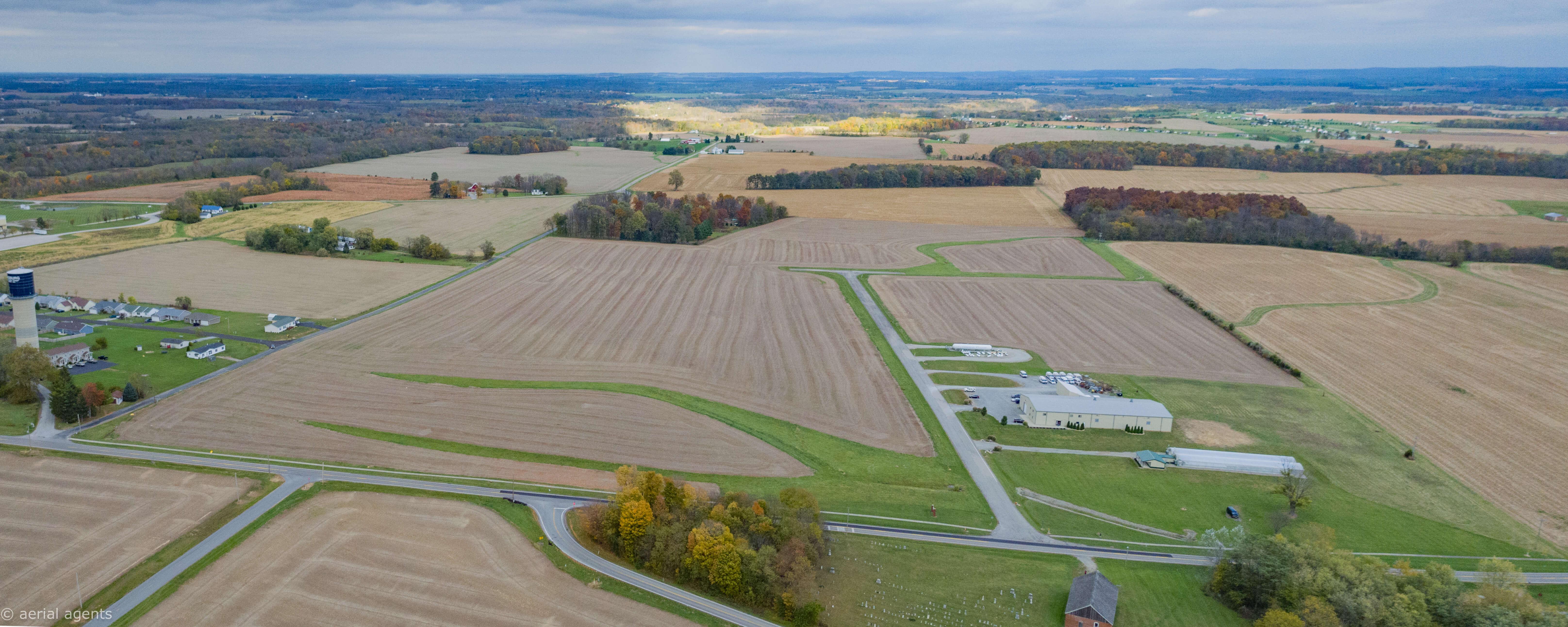 Aerial image of Leesburg Industrial Park