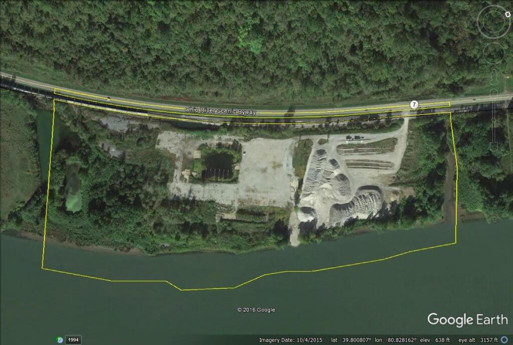 Aerial image of MCPA – Clarington Site