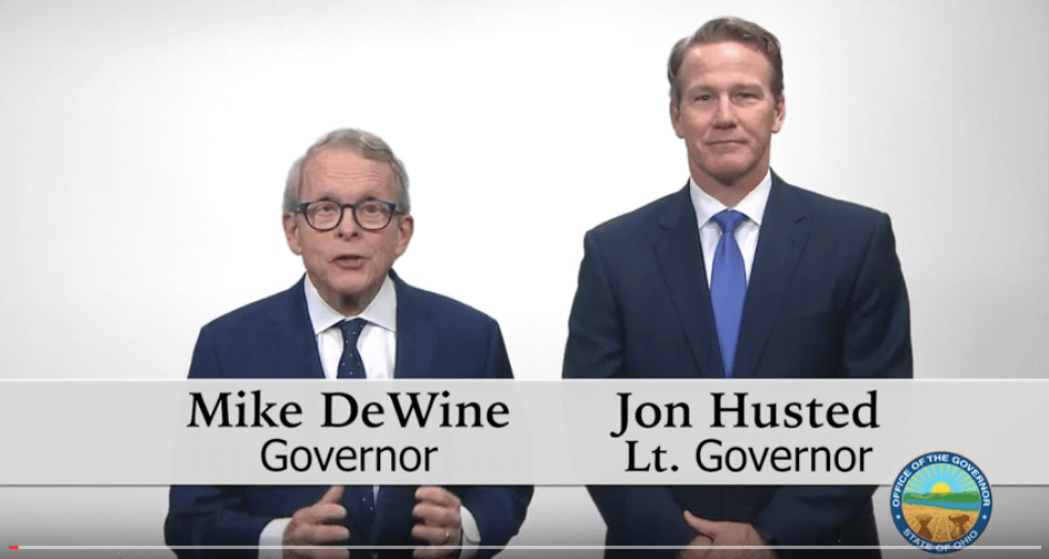 DeWine and Husted video